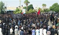 تجمع بزرگ عاشوراییان رودبار جنوب به روایت تصویر