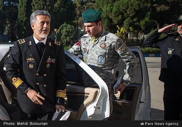 نشست خبری فرمانده نیروی دریایی ارتش خبرگزاری فارس