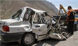 تصادف 2 دستگاه پژو 405 در بیرجند / دلیل حاددثه نبود چراغ راهنما و عدم نصب سرعتگیر اعلام شد