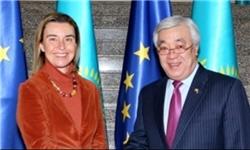 قزاقستان و اتحادیه اروپا قرارداد همکاری امضا کردند