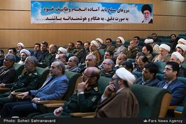 مراسم رونمایی از کتاب «دفاع هوشمند در اندیشه امام خامنهای» در وزارت دفاع