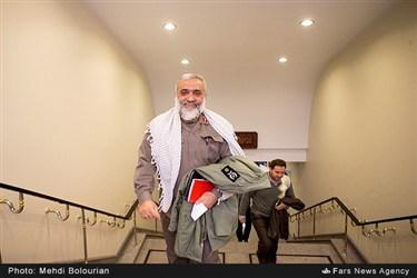 سردار محمدرضا نقدی در پایان همایش بررسی خسارتها و پیامدهای فتنه ۸۸