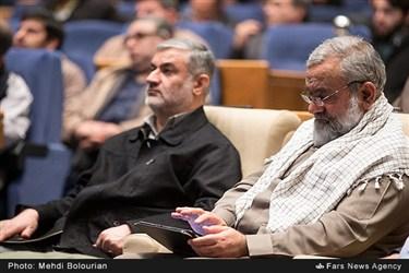 سردار محمدرضا نقدی در همایش بررسی خسارتها و پیامدهای فتنه ۸۸