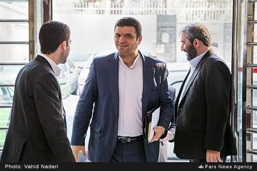 ورود امیر هامونی مدیرعامل شرکت فرابورس به خبرگزاری فارس