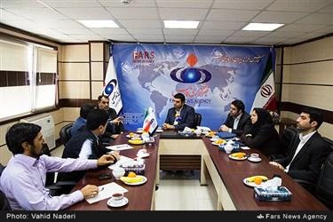 نشست خبری با حضور امیر هامونی مدیرعامل فرابورس