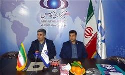 حضور برگزارکنندگان همایش ملی شب نیما در دفتر خبرگزاری فارس مازندران