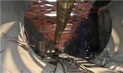 پایان موفقیتآمیز حفاری تونلهای عمیق 13 کیلومتری خط یک قطار شهری