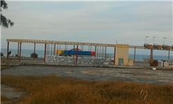پارک ساحلی محمودآباد یا خرابهای در ساحل + تصاویر