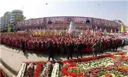 جشن «کاروان نوروزی» در شهر «خجند» تاجیکستان+تصاویر