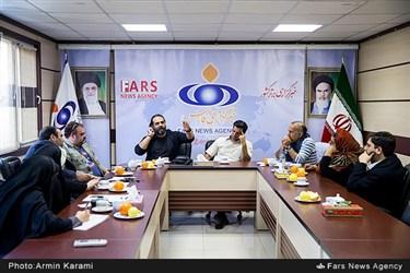 نشست نقد و بررسی سریال قرعه در خبرگزاری فارس