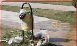 مشکلات بهداشتی در پارک ساحلی یاسوج