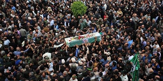 شهیدی که بر عهد خود با خدا ثابتقدم ماند/ خداحافظ حبیب لشکر + تصاویر