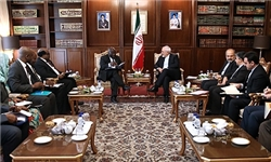 دیدار قائم مقام وزیر خارجه زیمبابوه با ظریف