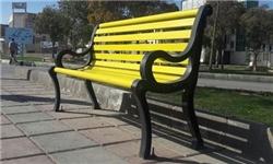 نصب 100 عدد نیمکت فلزی در معابر اصلی شهر اراک