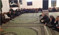 عزاداری رحلت رسول اکرم(ص) و شهادت امام مجتبی(ع) در بیشکک+تصاویر