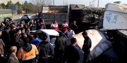 محور ساری ـ تاکام توسط مردم مسدود شد