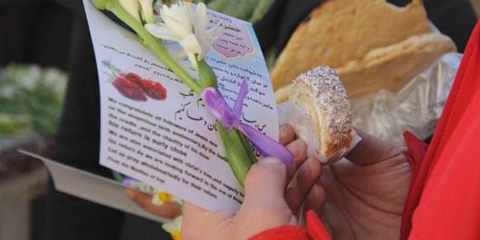 گل نرگس شیعیان در کلیسای بیتاللحم مسیحیان+تصاویر