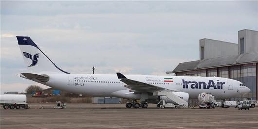نقص فنی هواپیمای ایرباس 321 مسیر تهران- نجف