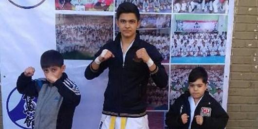 مدالآوری کاراتهکاران آستارا در مسابقات قهرمانی کاراته کشور