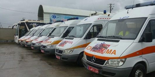 اورژانس گلستان به 20 دستگاه آمبولانس جدید تجهیز شد/ مراجعه بیش از 167 هزار نفر در نوروز 95 به مراکز اورژانس