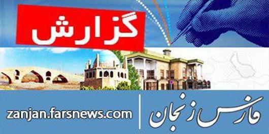 ترافیک جمعیتی در خیابان «آشخوری» زنجان