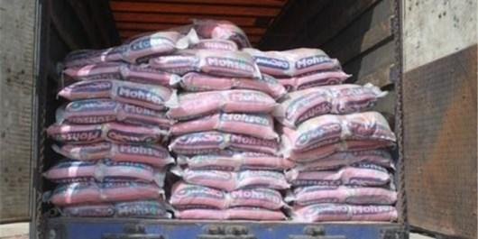 کامیون حامل برنج قاچاق در كوار توقيف شد