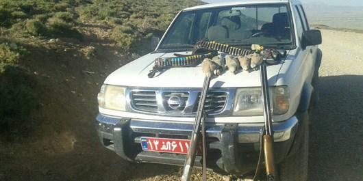 2 شکارچی بومی در شهرستانهای زنجان و سلطانیه دستگیر شدند