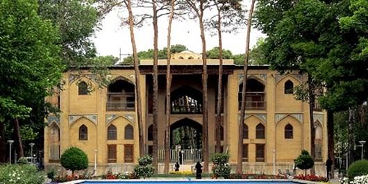آغاز مرمت تزئینات ایوان غربی کاخ هشت بهشت اصفهان