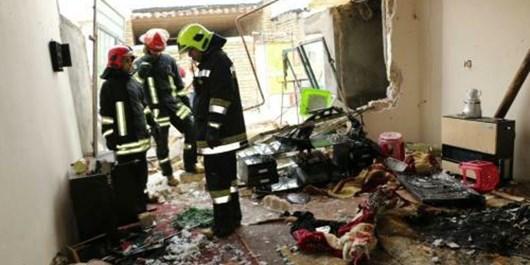 سوختن مرد جوان در پی وقوع یک انفجار در مشهد