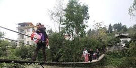 کابوس بلعیدهشدن در کام پُل مرگآور روستای شهرآرای چالوس