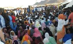 تظاهرات هزاران شهروند موریتانی در اعتراض به همهپرسی قانون اساسی