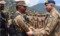 پاکسازی ۹۰ درصد منطقه راجگال از تروریستها در عملیات ارتش پاکستان