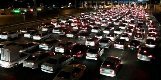 کاهش بار ترافیکی در محورهای هراز و فیروزکوه/ ترافیک در محورهای شرق استان تهران روان است