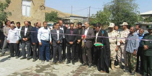 شروع آسفالت ریزی به معابر داخل روستاهای گرمی