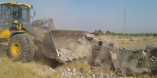 62 هکتار از اراضی ملی استان تهران رفع تصرف شد