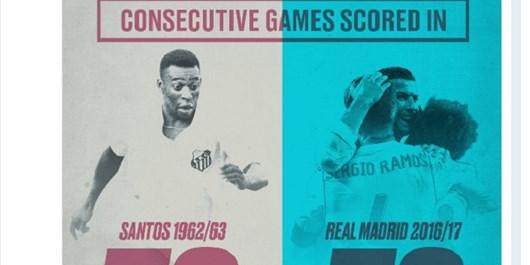رئال مادرید رکورد زد+عکس