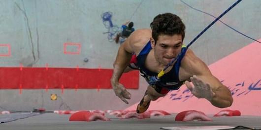 علیپور طلایی شد/ کسب مقام سوم ایران در مسابقات سنگنوردی قهرمانی آسیا