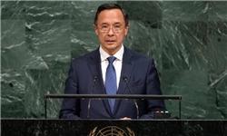 آستانه خواستار حذف تسلیحات هستهای در جهان است