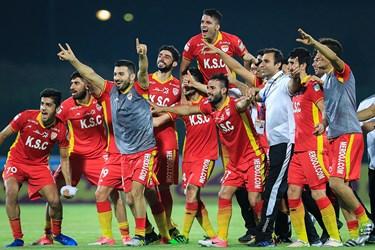 دیدار تیمهای فوتبال صنعتنفت آبادان و فولاد خوزستان از هفته هفتم هفدهمین دوره مسابقال لیگ برتر فوتبال کشور در ورزشگاه تختی آبادان