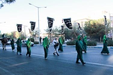 کاروان نمادین  ورود امام حسین (ع) به کربلا در بیرجند