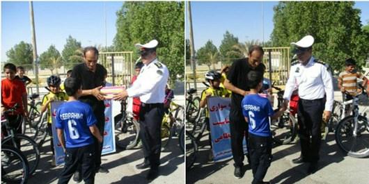 مسابقه دوچرخهسواری در اهرم برگزار شد