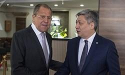 اوضاع منطقه و آسیای مرکزی محور مذاکره «لاوروف» با همتای قرقیز