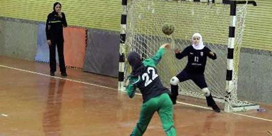 پیروزی نمایندگان فارس در لیگ دسته اول هندبال بانوان
