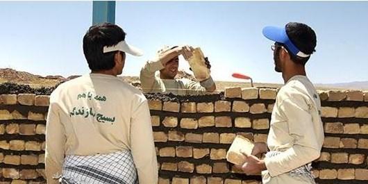 عطش خدمت بیمنت «بسیج» به محرومان گلستان/ ساخت خانه محروم در «قلعهحسن» گرگان