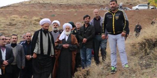 همایش پیادهروی جاماندگان اربعین حسینی در شهر هشجین برگزار شد