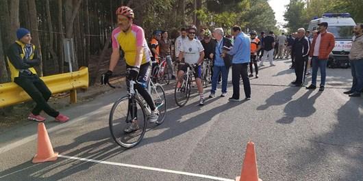 آغاز عملیات رینگ دوچرخهسواری مازندران در قائمشهر