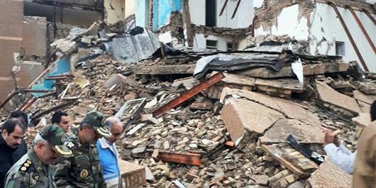 بازدید میدانی استاندار کرمانشاه از مناطق زلزله زده سرپل ذهاب
