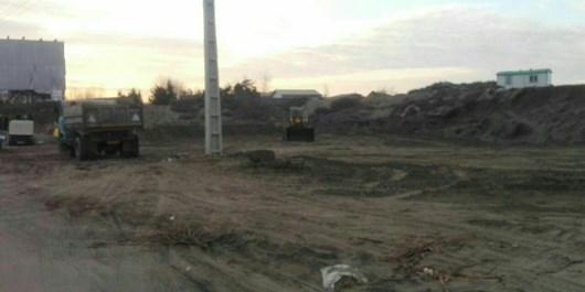 تخریب آخرین تپه ماسهای  ساحلی در محمودآباد