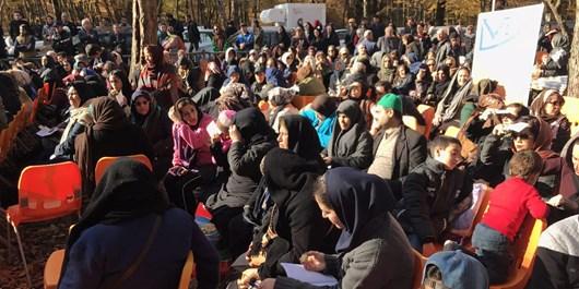 جشنواره پاییز هزار رنگ در گرگان برگزار شد