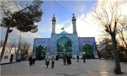 پانزدهمین تجمع بزرگ قاریان قرآن، وعاظ و مداحین در امامزاده ابوالحسن (ع) شهرری برگزار شد